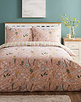 Hereford Blush Duvet Cover Set