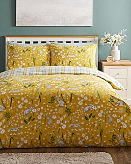 Hereford Ochre Duvet Cover Set