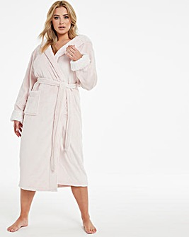 Boux Avenue Star Foil Hooded Robe