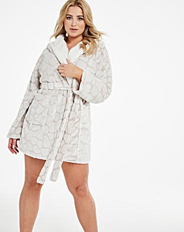 Boux Avenue Giraffe Hooded Robe