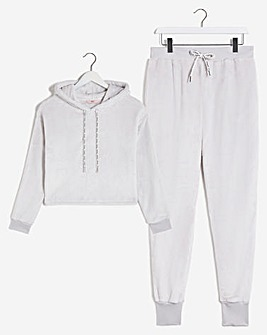 Boux Avenue Fleece Hoody and Jogger Set