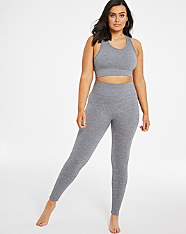 Boux Avenue Ribbed Seamless Legging