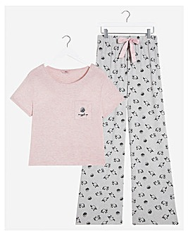 Boux Avenue Racoon Top & Pants Set