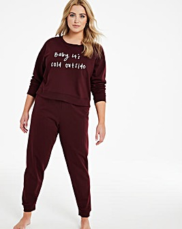 Boux Avenue Baby Its Cold PJ Set