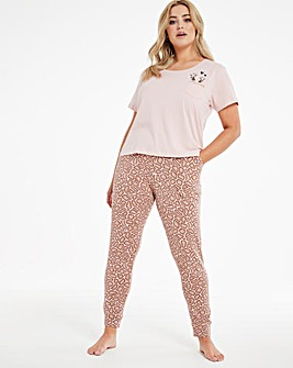 Boux Avenue Peek a Boo Jogger & T Shirt Set