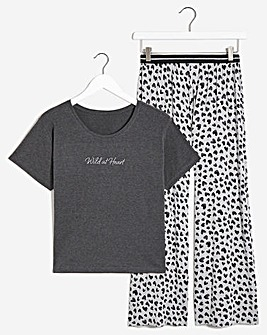 Boux Avenue Wild at Heart PJ Set