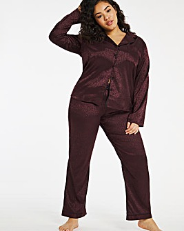 Boux Avenue Animal Jacquard PJ Set