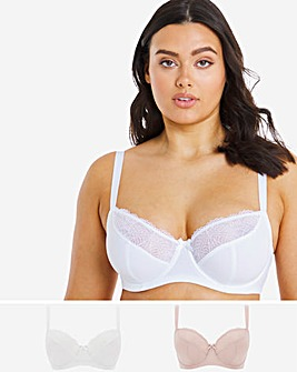 Dorina Curves Faith 2 Pack Full Cup Bras