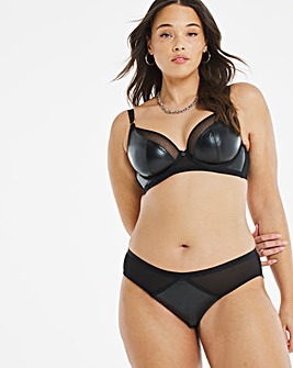 Curvy Kate Lucky Star Vegan Leather Plunge Bra