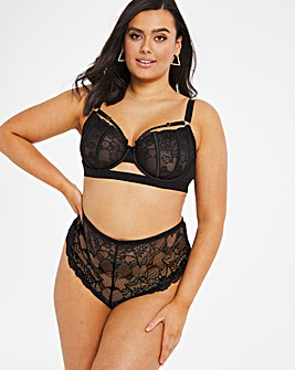 Felicity Hayward Playful Promises Satin Lace Bra