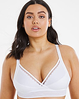 Playtex Organic Cotton Non-wired Support Bra