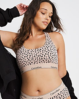 Calvin Klein Modern Cotton Cheeta Bralet