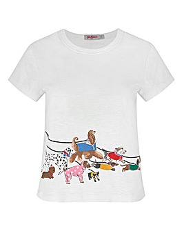 Cath Kidston Park Dogs Lounge T-Shirt