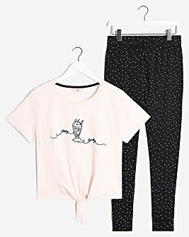 Boux Avenue Happy Sunday T and Jogger