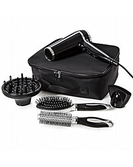 Carmen Professional Dryer Kit Keratin Black