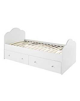 Princess Bed with Underdrawers