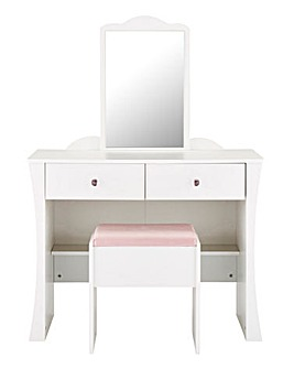 Princess Dressing Table Mirror and Stool