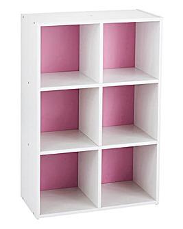 6 Cube Modular Storage