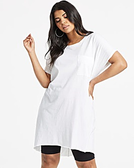 Simply Be Drop Shoulder Pocket Tunic