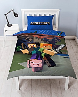 Minecraft Goodguys Reversible Duvet