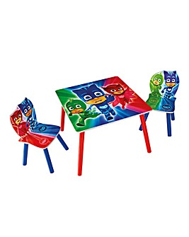 PJ Masks Table & Chairs
