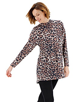 Soft Touch High Neck Top