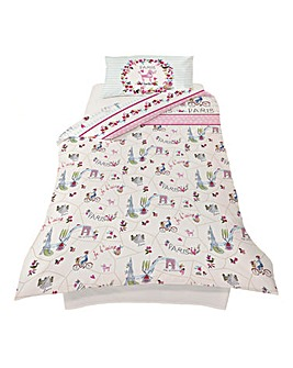 Paris With Love Duvet