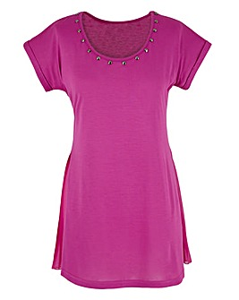 Pleat Jersey Top