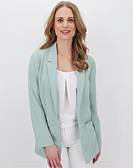 Sage Green Throw On Blazer