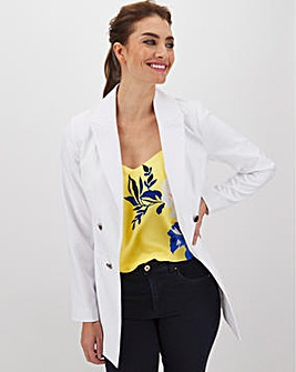 Mix & Match White Edge to Edge Blazer