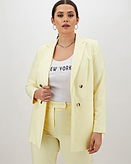 Mix & Match Lemon Edge to Edge Blazer