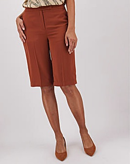 Chocolate Tailored Brown City Shorts
