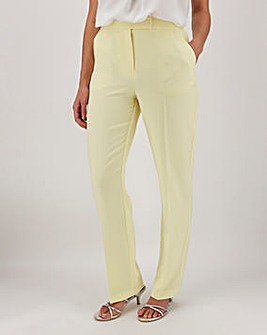 Mix & Match Lemon Straight Leg Trousers