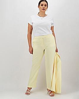 Mix & Match Lemon Straight Leg Trousers