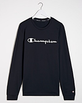 Champion Crew Neck L/S T-Shirt