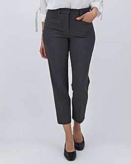 Grey Meghan 4-Way Stretch Trousers