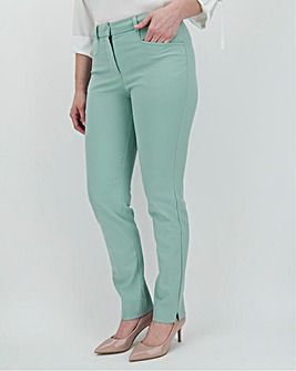 Pastel Blue Kate 4-Way Stretch Trousers