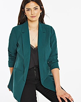 Pine Green Mix & Match Fashion Blazer