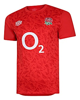 Umbro England Warm Up S/S Jersey