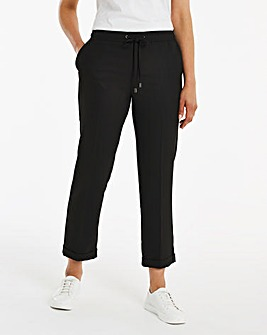 Black Tailored Jogger Trouser