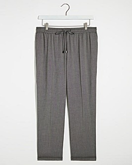 Grey Tailored Jogger Trouser