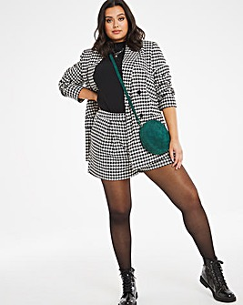 Houndstooth Tailored Shorts