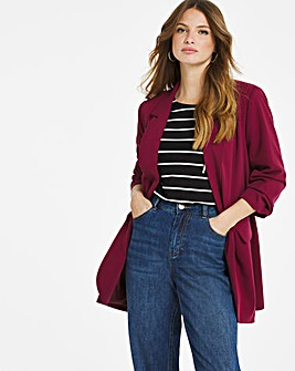 Berry Relaxed Blazer