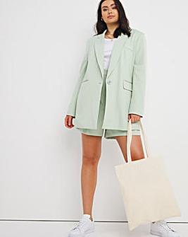 Simply Be Sage Oversized Blazer