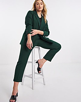 Dark Green Improved Quality PVL Tapered Trousers