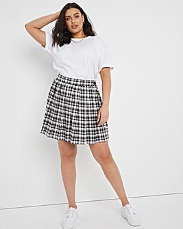 Check Tennis Skirt