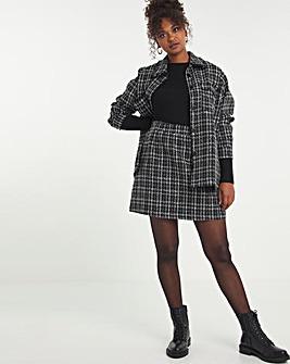 Boucle Lurex A Line Skirt