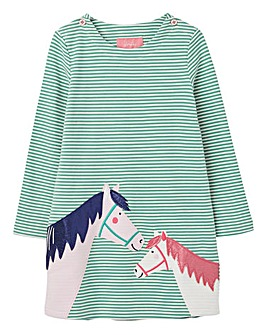 Joules Younger Girls Kaye Horse Dress