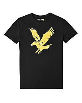 Lyle & Scott Boys Black Eagle T-Shirt