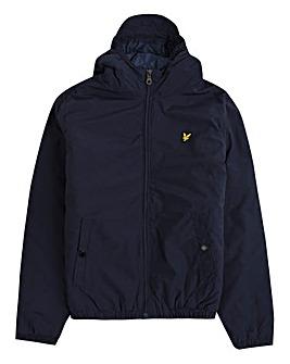 Lyle & Scott Boys Navy Hooded Jacket